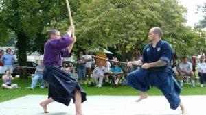 Exhibición de Kenjutsu